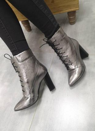 Кожаные ботинки 36-41 осень/зима
