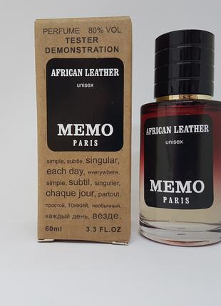Memo African Leather - Selective Tester 60ml