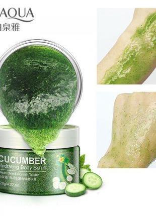 Скраб для тела с экстрактом огурца BIOAQUA Body Scrub Cucumber...