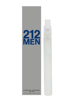 Carolina Herrera 212 For Мen - Mini Parfume 10ml