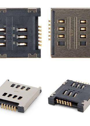 Конектор SIM-карти для LG D285 Optimus L65 Dual SIM, D325 Opti...