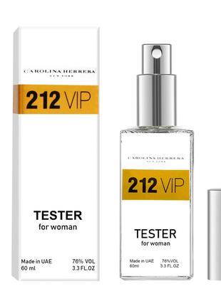 Carolina Herrera 212 VIP Women - Dubai Tester 60ml