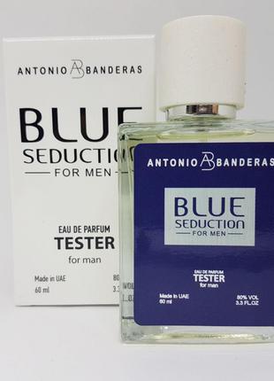 Antonio Banderas Blue Seduction for men - Quadro Tester 60ml