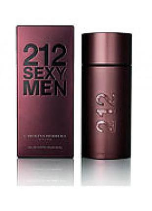 Carolina Herrera 212 Sexy Men EDT 100 ml (лиц.)