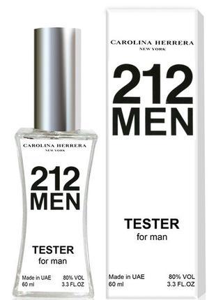 Carolina Herrera 212 Men - Tester 60ml