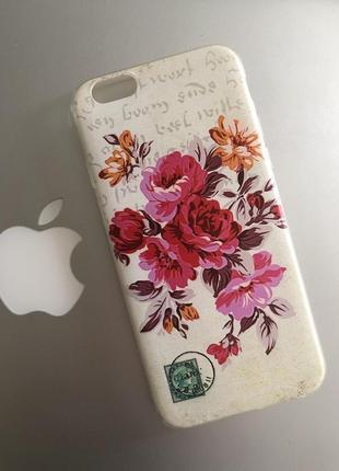 Силиконовый чехол для Apple iPhone 6, iPhone 6s