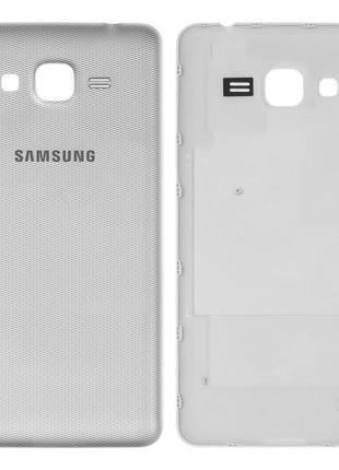Задня кришка батареї для Samsung G532 Galaxy J2 Prime, срібляста
