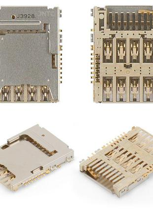 Конектор SIM-карти для Samsung G355H Galaxy Core 2 Duos, G360F...