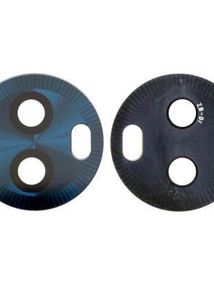 Скло камери для Motorola XT1925 Moto G6, синє, пластик