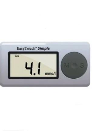 Аппарат для измерения уровня глюкозы в крови EasyTouch Simple ...