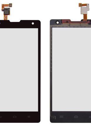Сенсорний екран для Huawei Honor 3C H30-U10, чорний