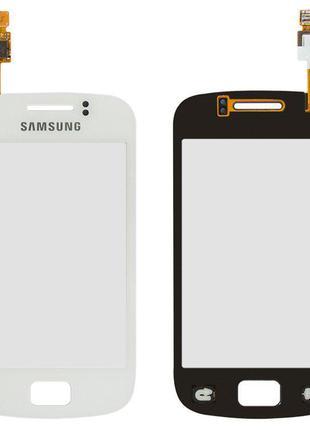 Сенсорний екран для Samsung S6500 Galaxy Mini 2, білий
