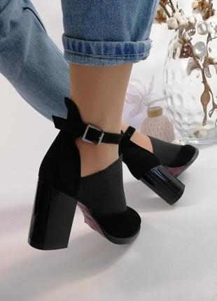 Туфли каблук