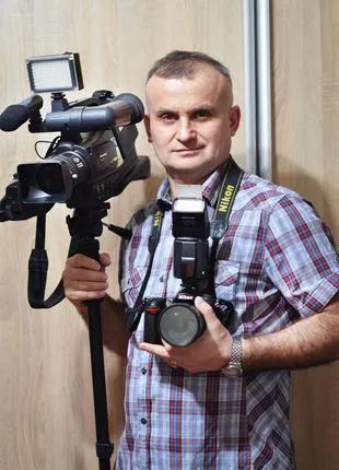 Видео-фотосъемка ваших Праздников от 500 грн.!СумыОбластьУкраина