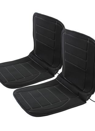 Накидка на сиденье автомобиля с подогревом Lesko TZ002 Black (...