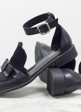 Красивые и удобные женские туфли с бантиком цвет на выбор