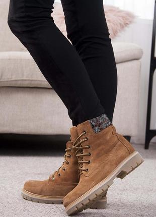 Ботинки байка-мех