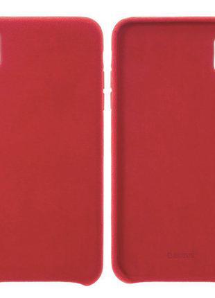 Чохол Baseus для iPhone XS Max, червоний, пластмасовий, Super ...
