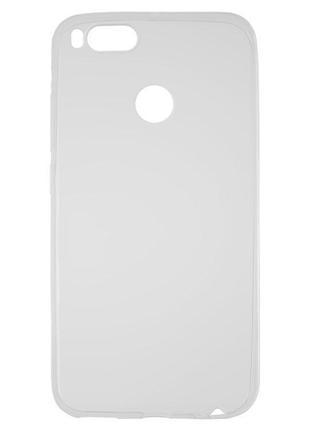 Чохол для Xiaomi Mi 5X, Mi A1, безбарвний, прозорий, силікон, ...