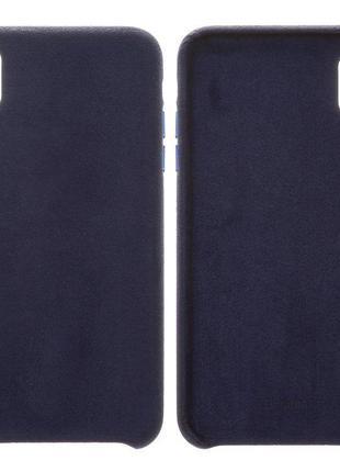 Чохол Baseus для iPhone XS Max, синій, пластмасовий, Super Fib...