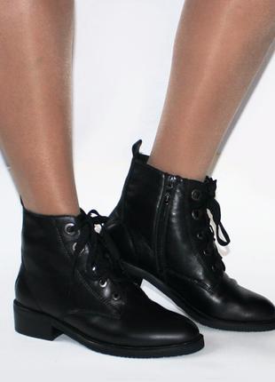 Зимние ботинки respect оригинал. натуральная кожа, цигейка. 36-41