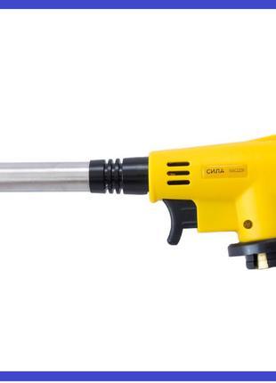 Горелка газовая c пьезоподжигом Сила - 198 мм