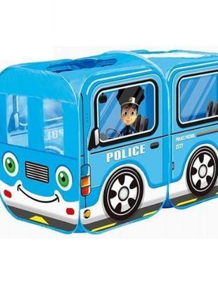 Детская игровая палатка автобус M5783 полиция/пожарная служба,...