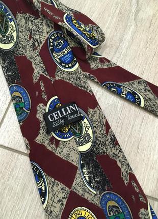 Шелковый галстук cellini{ оригинал}