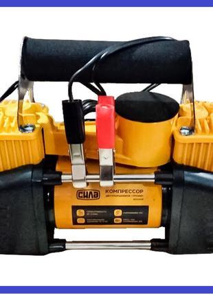 Миникомпрессор автомобильный Сила - 12 В x 10 bar x 85 л/мин, ...