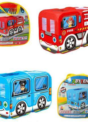 Палатка детская игровая M 5783 автобус