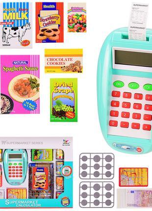 """Каса """"Термінал"""" 1611NK (36шт 2) іграшкова карта і гроші, проду..."""
