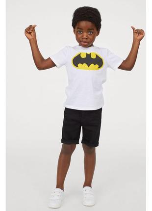 Чёрные джинсовые узкие шорты бриджи для мальчика