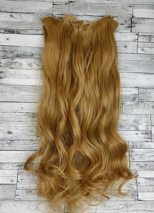 Трессы волосы на заколках накладные пряди 6227 золотистый русы...