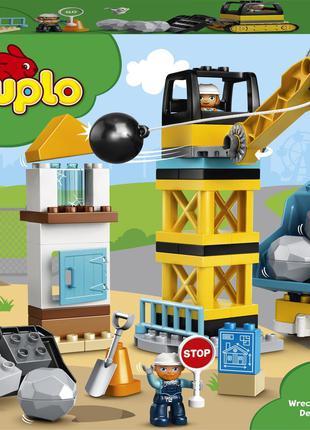 Конструктор LEGO DUPLO 10932 Town Сокрушительный шаровой таран...