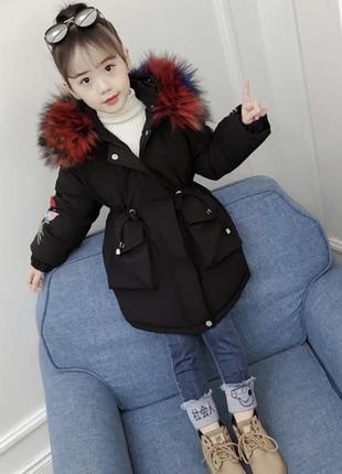 Куртка тёплая зимняя синтепон