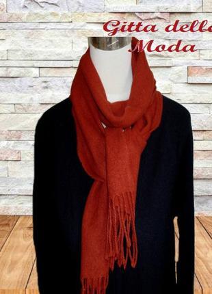 🦄gitta della moda 60 % кашемир теплый женский шарф красный бах...