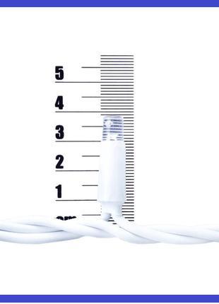 Гирлянда-дождик уличная светодиодная PRC WP - 100 LED белая Color