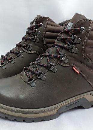 Скидка!зимние коричневые комфортные ботинки-берцы detta