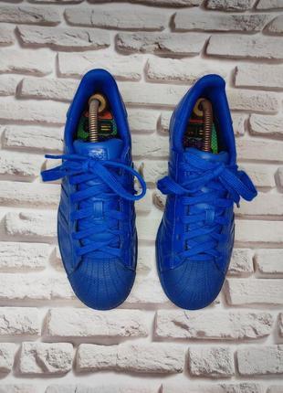 "Adidas pharrell williams superstar supercolor ""bold blue"" крос..."