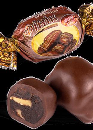 """Конфеты шоколадные Skava """"Финик с грецким орехом"""""""