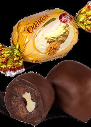 "Конфеты шоколадные Skava ""Банан с грецким орехом"""