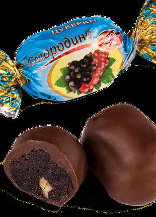 """Конфеты шоколадные Skava """"Смородина с грецким орехом"""""""