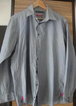 Рубашка, в полоску, длинный рукав marks & spencer