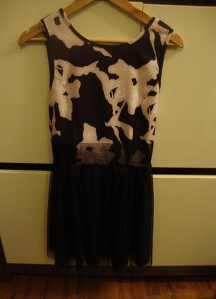 Нарядное платье, фатин, сеточка-юбка