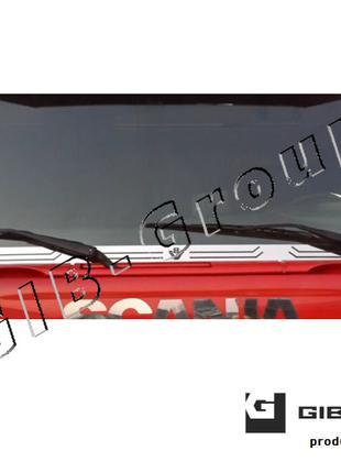Полоса из нержавеющей стали под лобовое стекло для Scania 4-R-...