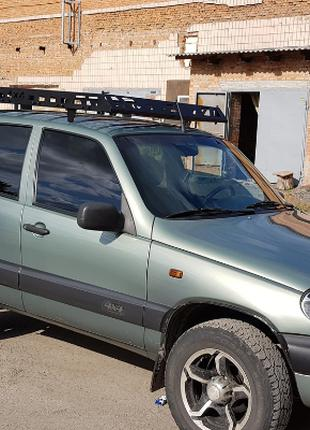 Экспедиционный багажник на крышу Niva Chevrolet 2002+