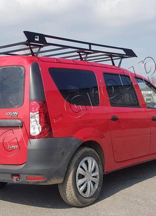 Экспедиционный багажник на крышу Renault Logan MCV (2009+) Dac...