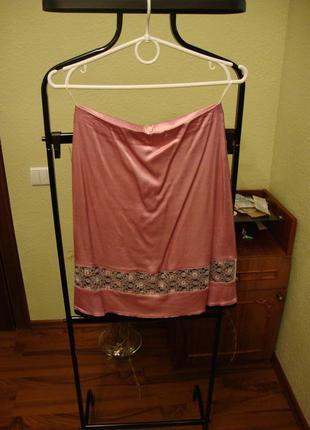 Летняя юбка в бельевом стиле