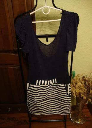 Летнее стильное платье , морской стиль vero moda