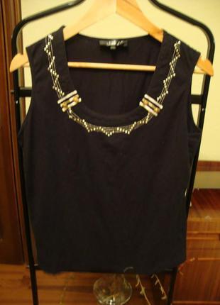 Котоновая фубтолка, майка, блуза bagutti, морская тематика